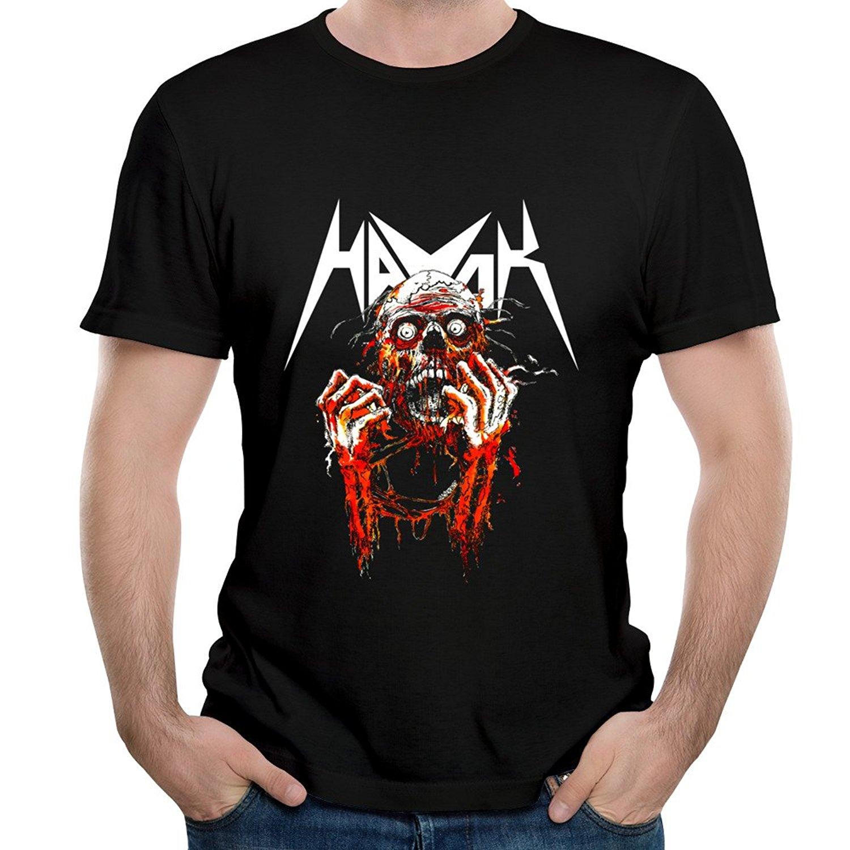 Short Cotton O-Neck Mens Band Havok Song Living Nightmare T Shirt
