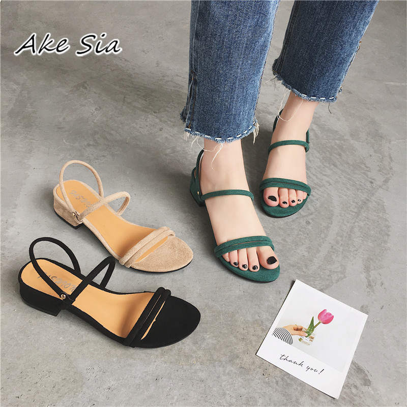 HTB1.smjt JYBeNjy1zeq6yhzVXaT new Flat outdoor slippers Sandals foot ring straps beaded Roman sandals fashion low slope with women's shoes low heel shoes x69