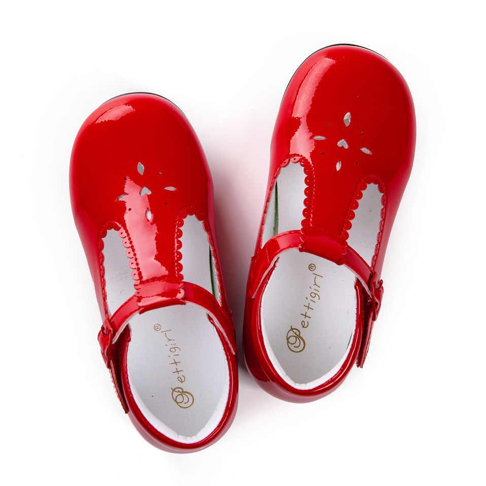 Pettigirl/2019 г. Открытые туфли для девочек 3 цвета, кожаная обувь с микрофиброй ручной работы, детская обувь американский размер (без обувной коробки), A-KSG009-04