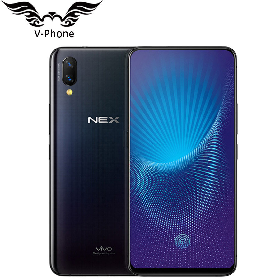 "Vivo Nex Mobile Phone 4G LTE Snapdragon 710/845 Octa Core 6.59"" 128GB 256GB Full Screen Auto-elevated Camera 4000mAh Fingerprint"