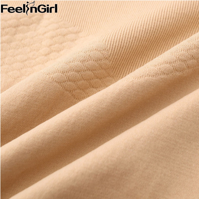 FeelinGirl Women Seamless Slimming Body Shaper Tube Control Slips Half Boob Tube Shapwear -E Waist Cincher Sexy Beauty Bodies