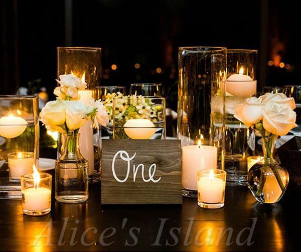 unidslote dedals velas flotantes de agua decoracin del hogar fiesta de cumpleaos de