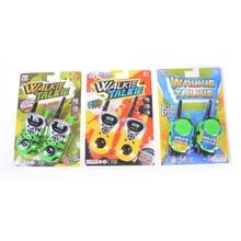 2Pcs Walkie Talkie Electronic Toys Portable Two Way Radio Set for Children Kids