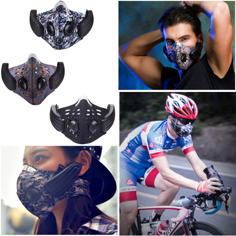 Bluetooth Headphones Mask Anti-pollution Mask Wireless Bone Conduction Headphone Headset Dust Proofmask for Outdoor Sports op7 6av3 607 1jc20 0ax1 button mask