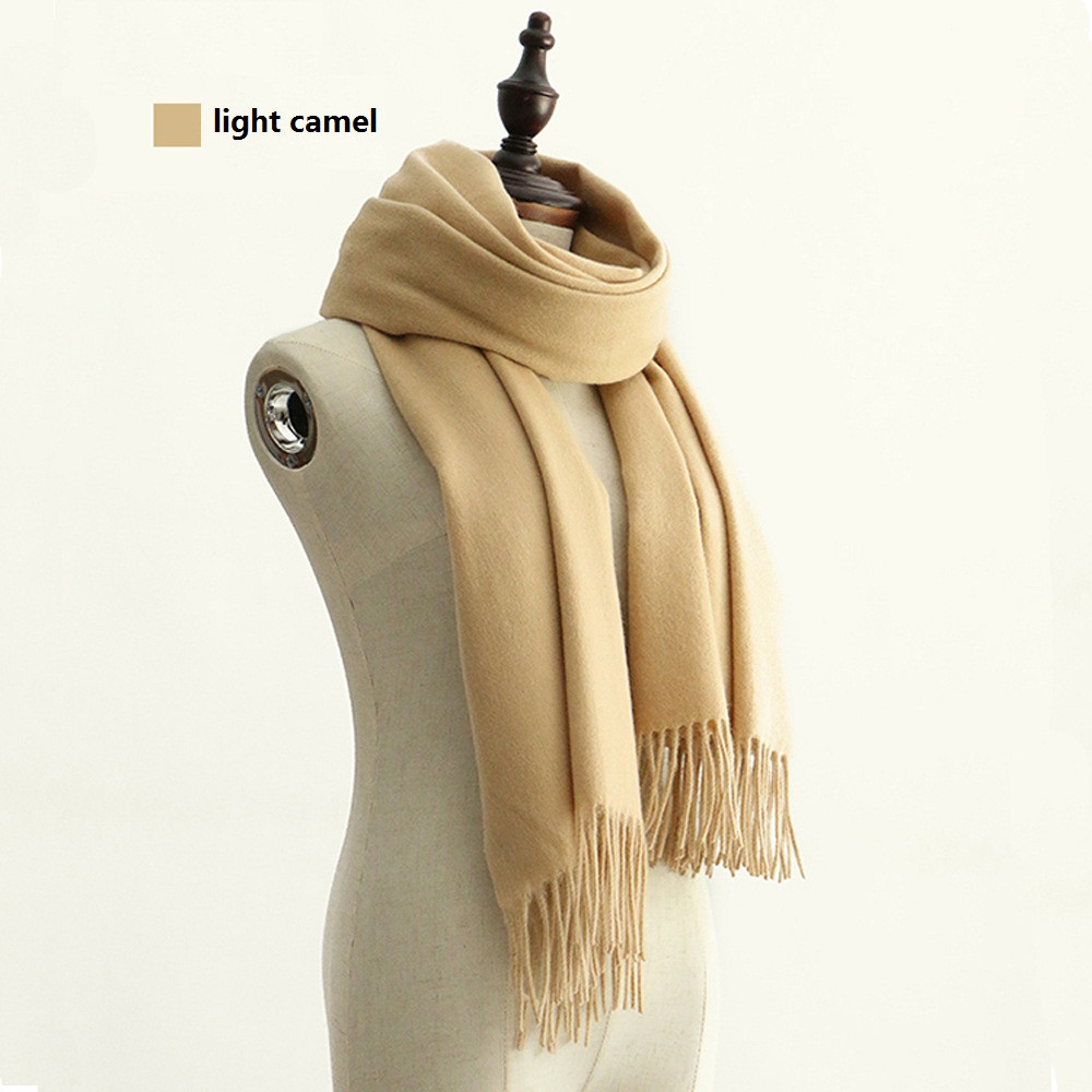 Classic Pure Wool Scarf | Blanket Scarves | Up to 60% Off Now