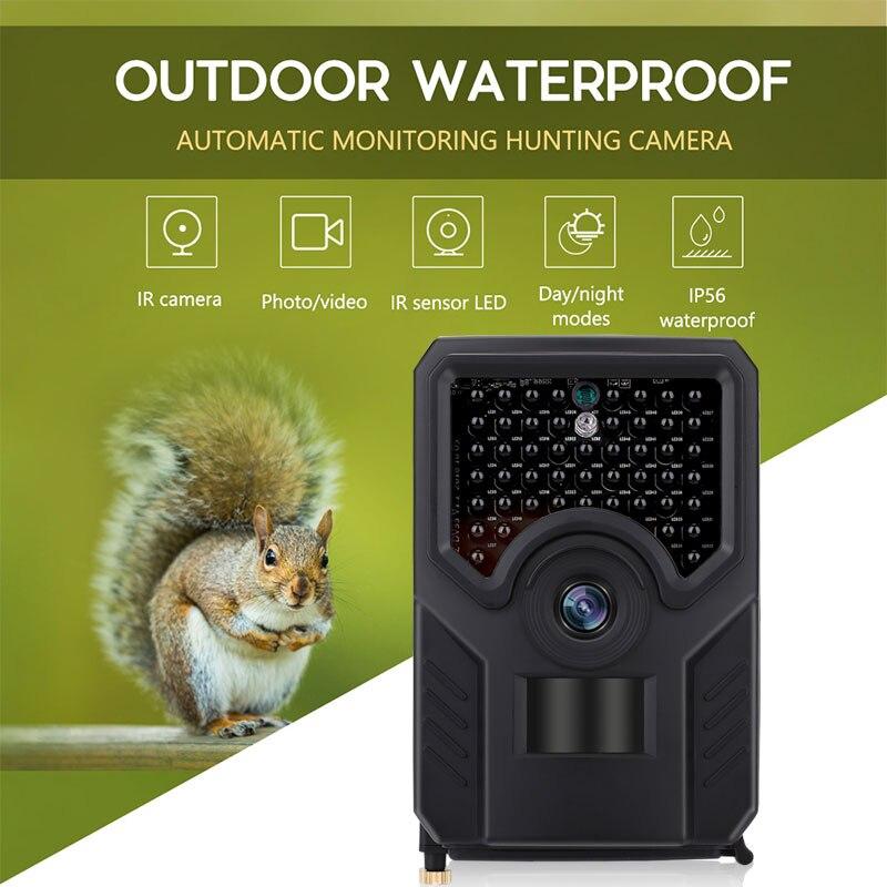 Caméra de chasse multifonctionnelle caméra de chasse IR caméra de chasse Portable 0.8 s 1080 p enregistreur vidéo Animal