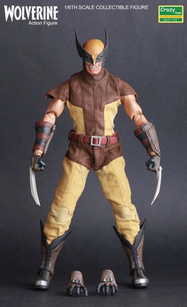 Fou Jouets Logan X-hommes 1/6E Échelle de Collection Action Figure Modèle Jouet 12 30 cm KT3200