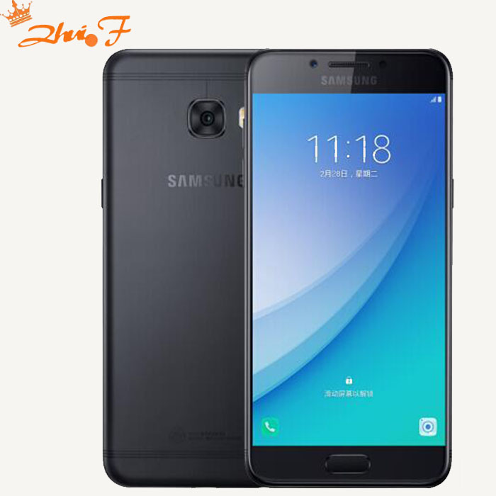 Γνήσια Samsung Galaxy C5 Pro 2017 Κινητό τηλέφωνο C5010 4GB + 64GB