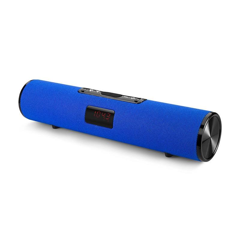 Haut-parleur Bluetooth colonne sans fil portable boîte de son 20W stéréo caisson de basses fm radio boombox tv tf aux usb pc barre de son pour xiaomi - 4