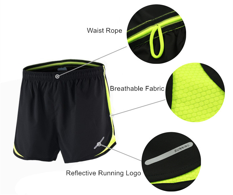 ARSUXEO Running Set Men Jogging Jersey Sports Suit Gym Clothing Sportswear Breathable Marathon Shorts and Running Shirts