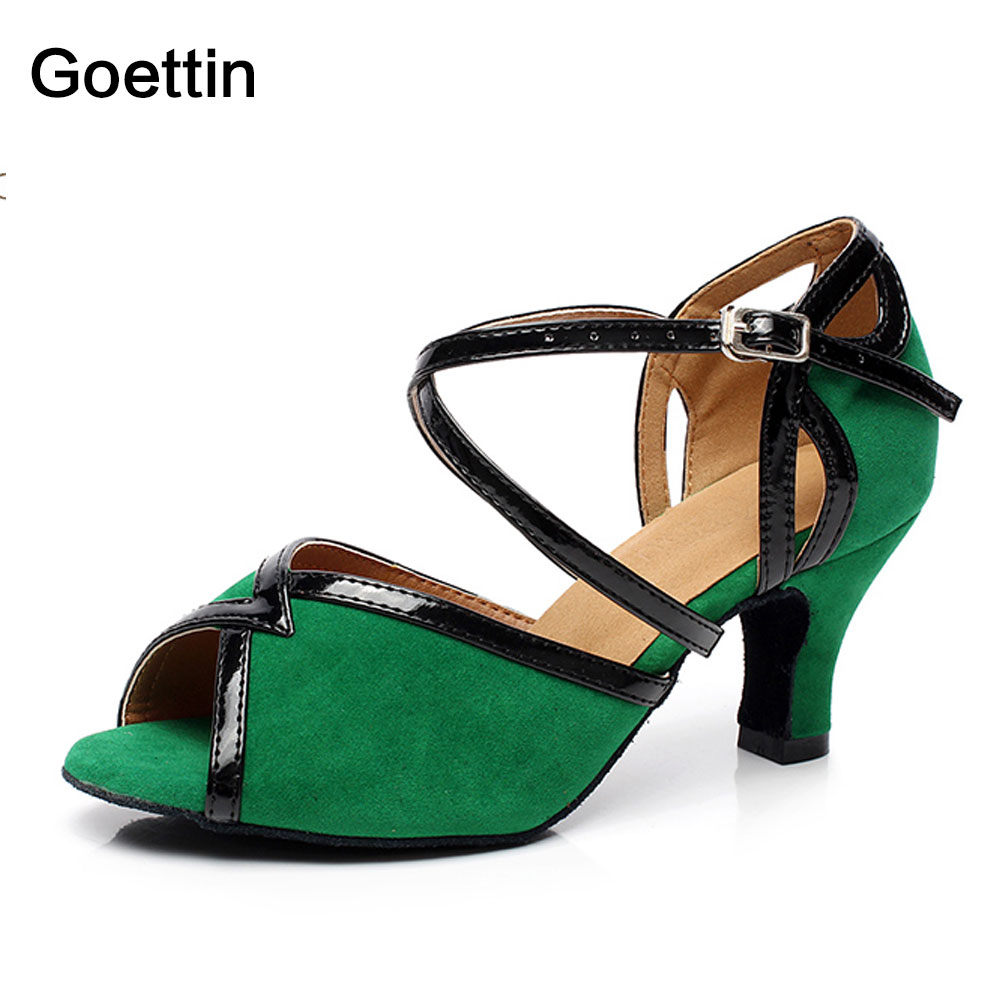 Жаңа келу Goettin маркалы 6130 Латын Dance Shoes Әйелдер үшін Salsa Dance Shoes