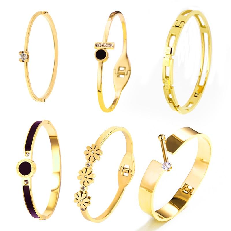 Купить браслет 2018 новое поступление женские браслеты из нержавеющей