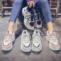 Disputent/Весенняя женская Вулканизированная обувь; кроссовки на плоской подошве; женские модные повседневные мягкие дышащие туфли на шнуровке...