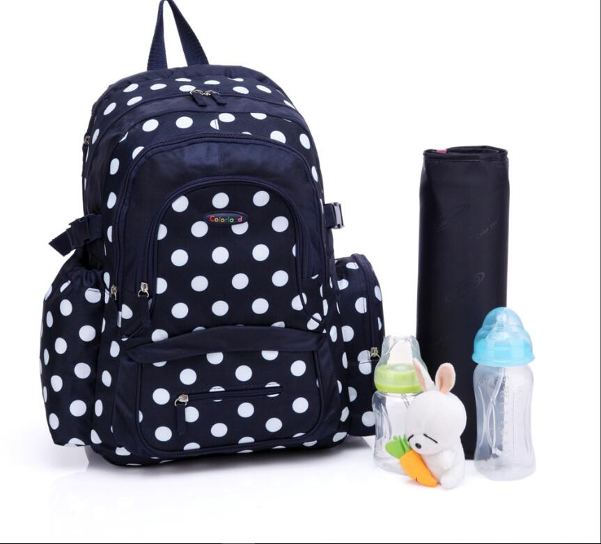 цены Baby Nappy Bags Large Capacity Waterproof Diaper Bag Mother Maternity Backpack Baby Stroller Bag