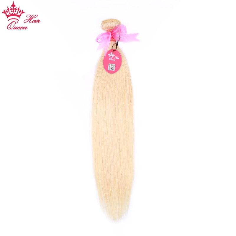 Queen Hair 613 Blonde Human Straight Hair Bundles 1/3pcs Honey Blonde Bundles Brazilian Hair Weave 100% Human Remy Weave