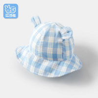 Dinstry Summer Newborn Infant Baby Sun Hat With Pure Cotton Gauze Ear Baby Girl Sun Hat
