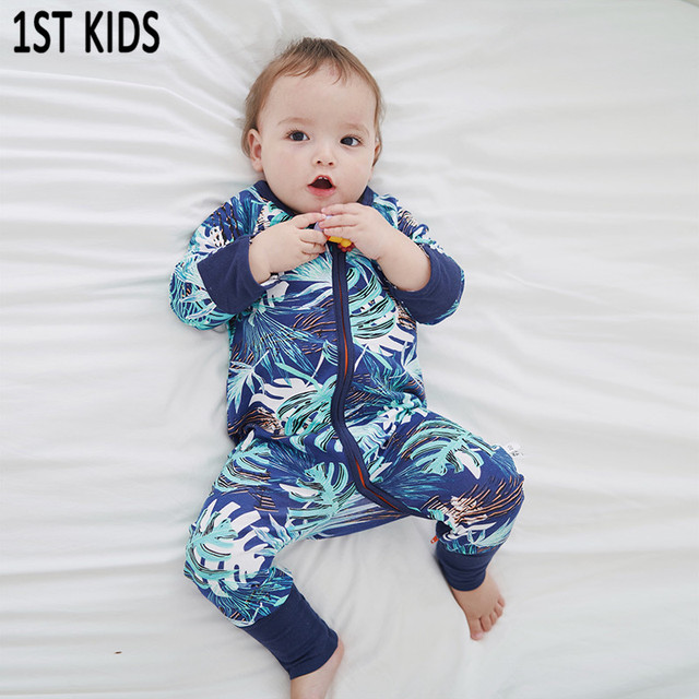 6730642d8 Brand New Fashion Newborn Toddler Infant Baby Boys Romper Long Sleeve  Playsuit Little Boys Girls Outfits