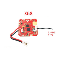Syma X5C-10 X5C-1 X5C PCB Receiver Board 2.4G 4CH 6-Axis RC Helicopter Quadcopter Drone Spare Parts