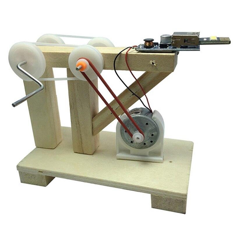 Brillant 1 Pc Diy Montieren Spielzeug Dynamo Modell Holz Erfindung Wissenschaft Physikalischen Experiment Kits Kinder Kreative Pädagogisches Spielzeug Klar Und Unverwechselbar