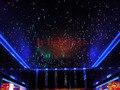 DIY оптоволоконный комплект светодиодных ламп + концевые светящиеся оптические кабели изменение цвета ИК-контроль Звездный потолок звездно...