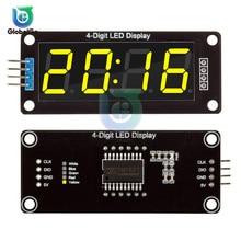 TM1637 0.56 Inch 4-Digit Digital Clock LED Display Tube 7 Segments Double Dots Module For Arduino