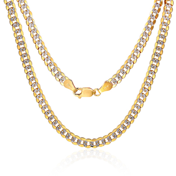 1e706db92577 18 K oro puro collar Real es 750 maciza cadena de oro de los hombres Simple  elegante moda fiesta clásica joyería fina venta caliente Nuevo 2018