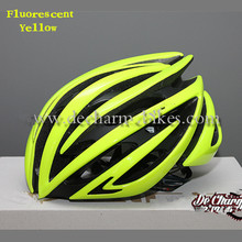Fluorescent Yellow Bicycle Cycling Helmet Bike Helmet Casco Ciclismo Capacete Cascos para Bicicleta For men and women Size M