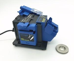 Image 2 - 96W Multifunction sharpener Household Grinding Tool sharpener for knife Twist drill HSS drill scissor chisel electric grinder