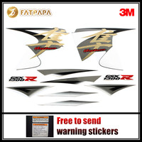 For SUZUKI Hayabusa GSXR1300R 2014 Motorcycle Fairing Emblem Sticker Decal