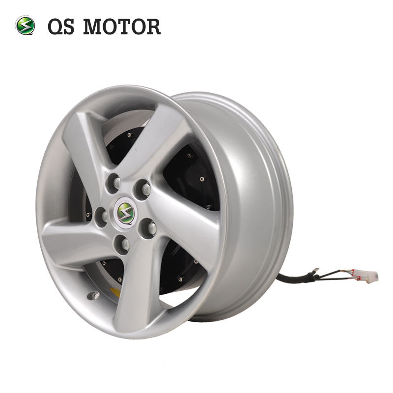 QS Motor E-car 273 6000W 45H V3 Electric Car Single Shaft Hub Motor