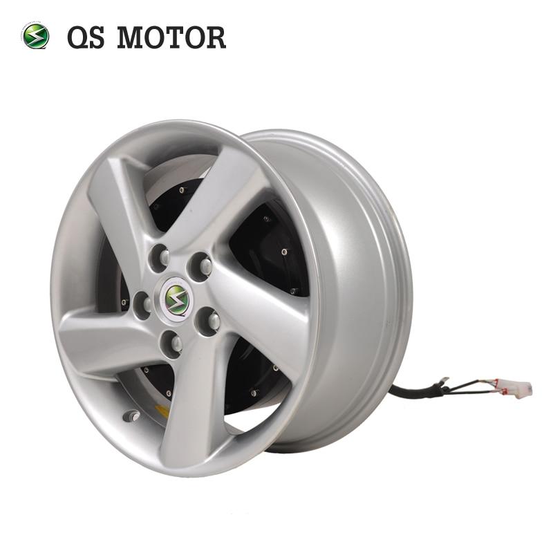 QS Motor E-car 273 6000W 45H V3 Electric Car Single Shaft Hub Motor