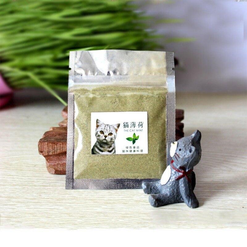 Chatons collations herbe à chat naturel Non toxique dissolvant pour boule à cheveux et nettoyage des dents intéressant chat jouets pour Gatos