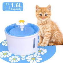 OLN 1.6L Automatic Cat Water Fountain For Pets Dispenser Large Spring Drinking Bowl Feeder Drink Filter
