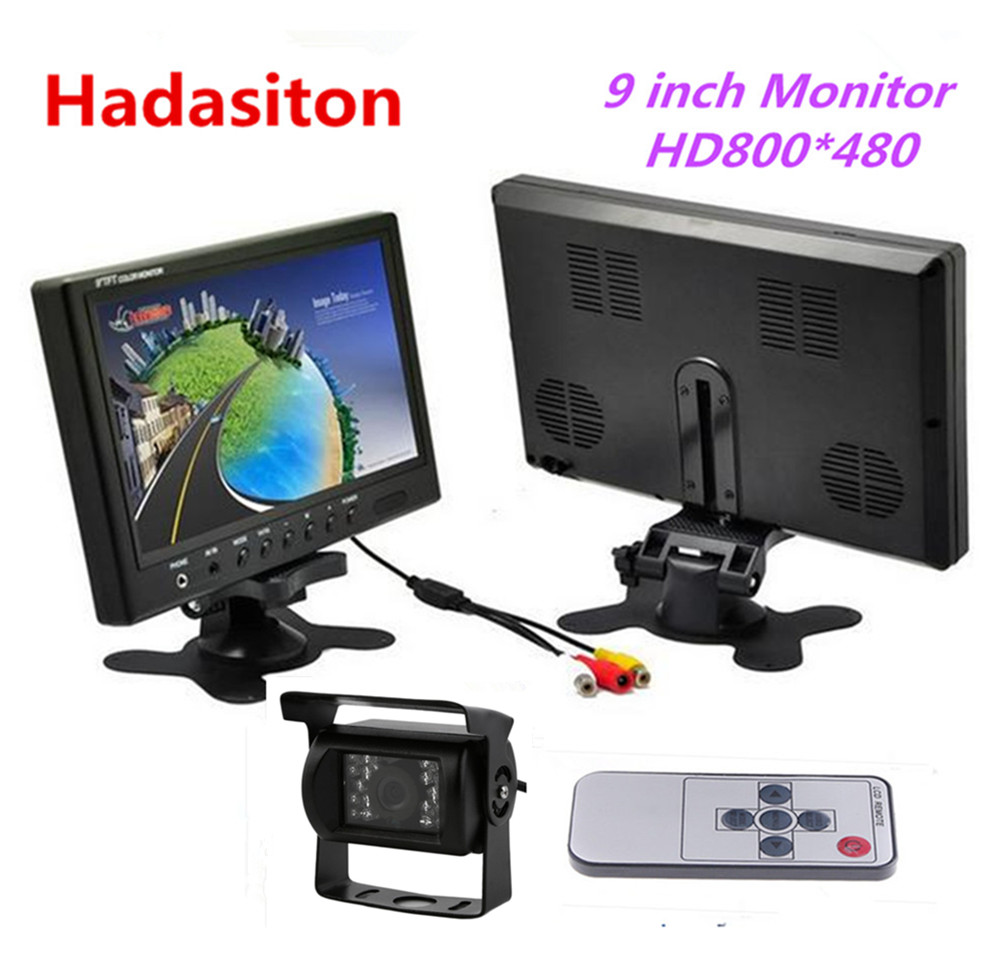 9 inch TFT LCD Screen Car Monitor Headrest monitor with Remote control Use for Truck Car