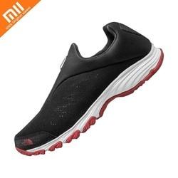Xiaomi mijia wysokiej elastyczna dzianinowa cholewka lesie wodoodporna dno odkryte buty do biegania na mokro antypoślizgowe oddychające buty sportowe 1