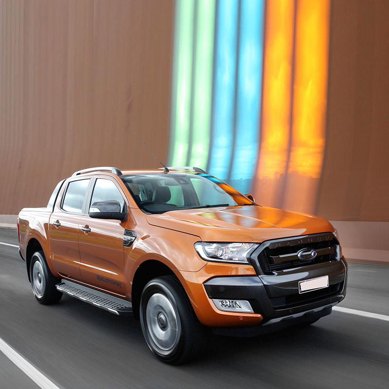 Led Roof Light Raptor Style Roof Accessories For FORD RANGER Wildtrack 2016 2017 2018 2019 T7