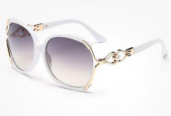 2017 New Vintage Pearl Sunglasses Women Oculos De Sol Feminino Fashion Gradient Sunglass Women Brand Designer Sun Glasses 142M 3