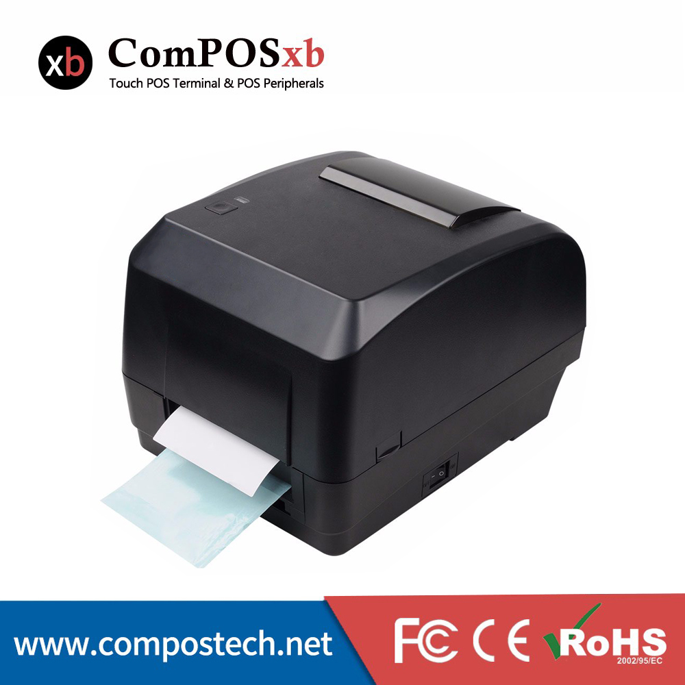 Free shipping high quality direct thermal desktop label printer /pos system priner apply ...