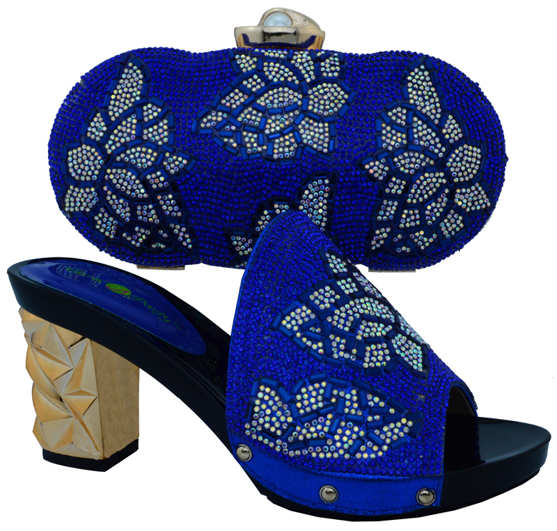 ФОТО Shoes and bag to match Italian African Shoe and Bag Set for Party In Women Shoe Combining Italian and bag set BCH-10