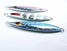 3pc 60g 2.11oz 80g 2.8oz 100g 3.52oz 150g 5.29oz  Hard Metal Fishing Lure Slice Bait Jigging Salt Water Deep Sea Fish Lure-46924