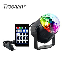 Sound Activated Party Lights LED Disco Ball Projector 15 Color LED Stage Lights For Christmas Home KTV Xmas Wedding Show sound activated party lights led disco ball projector 15 color led stage lights for christmas home ktv xmas wedding show