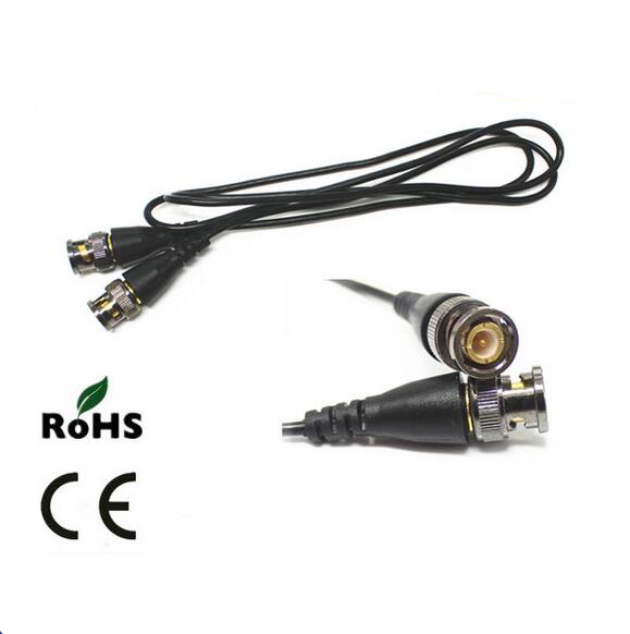 2m CCTV BNC male TO BNC male CABLE RG59 cable ...