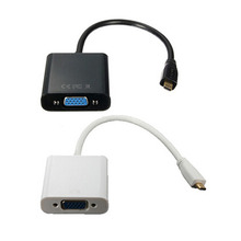 1pcs HDMI to VGA Adapter Convertor Video 1080P Digital Analog Audio Male Female for PC Laptop Tablet Projector