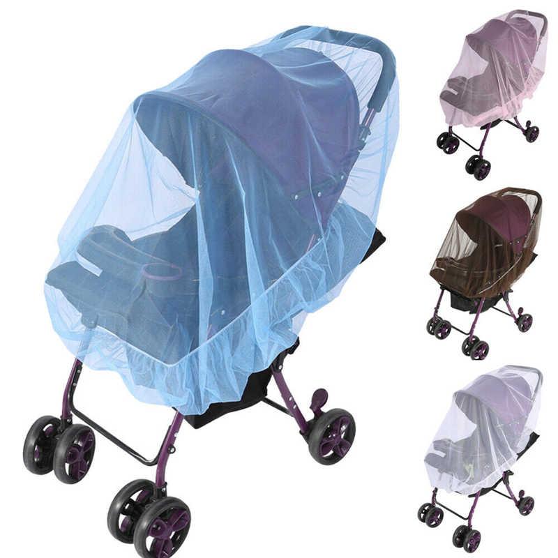 Bébé enfants poussette poussette landau moustiquaire mouche insecte Net maille Buggy couverture pour bébé enfants poussette moustiquaires 5 couleurs