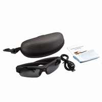 SM16 HD 1080P Sunglasses Camera Mini Camcorder Eyewear Video Recorder Wide Angle 120 Degrees Sports Glasses