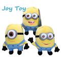 "Top quality Despicable Me Minions  Doll 3D Eye 100pcs 7"" Plush Toys Stuffed Animals Doll Movie Toys"