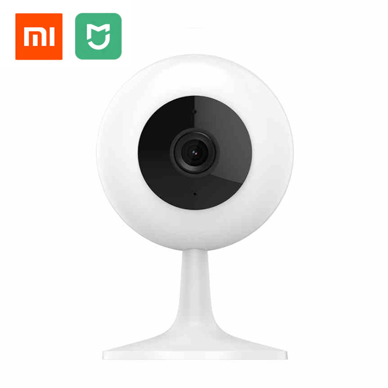 Original Xiaomi Mijia Smart Cameras 720P HD Wireless Wifi Infrared Night Vision Baby Monitor 100.4 Degree Home Cam цена