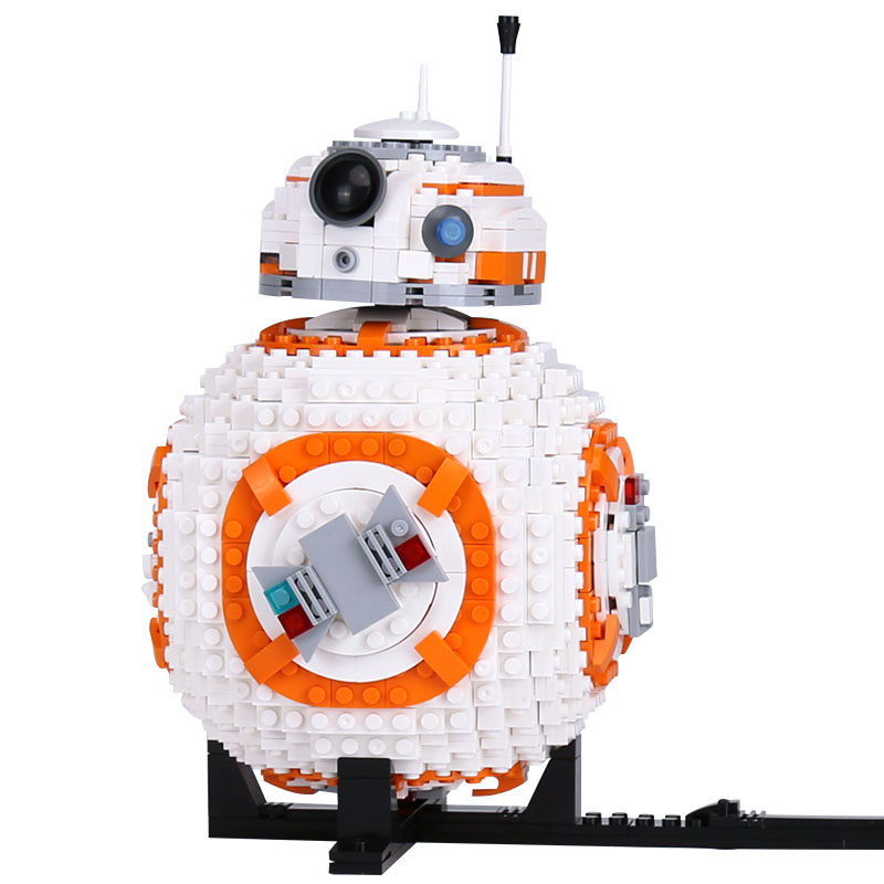 1238Pcs Star Wars BB8 Robot Set Genuine Series Set plastic Building Blocks Bricks Toys compatible with legoingly toys for child набор для волос phytosolba phytodensia шампунь 50 мл маска флюид 50 мл сыворотка 10 мл