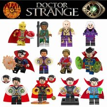 The Avengers Legoings Doctor Strange Wong Cloak Weapon Baron Mordor Infinity War Super Heroes Building Blocks Toys for Children(China)