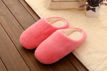 Factory Direct Home Slippers Man Winter Warm Cotton-padded Slippers for Women Home Shoes House Shoes Floor Shoes Pantufas